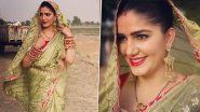 Sapna Choudhary: सूट छोड़ साड़ी में कहर ढाती दिखीं हरयाणवी डांसर सपना चौधरी, देखें ये खूबसूरत Photos