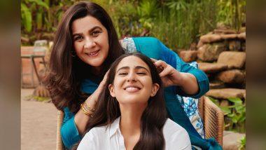 Sara Ali Khan ने मॉम Amrita Singh संग पोस्ट की ये Happy Picture, इंटरनेट पर हुई Viral