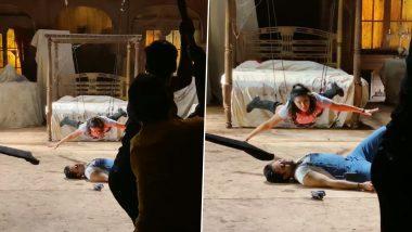 Sunny Leone Video:सनी लियोन ने दिखाया अपना सिंघम स्टाइल, स्टंटबाजी का वीडियो पोस्ट कर लिखा- आता माझी सटकली लटकी