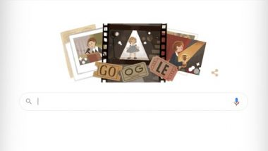 Shirley Temple Google Doodle: Google honored Hollywood icon Shirley Temple by creating a splendid doodle