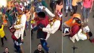 Viral Video: दोस्त के कंधे पर बैठकर बारात में खुशी से नाच रहा था दूल्हा, उसके बाद हुआ कुछ ऐसा..देखें वायरल वीडियो