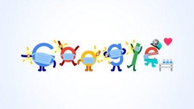 Google ने शानदार Doodle बनाकर कोविड वैक्सीनेशन के लिए लोगों को किया प्रोत्साहित, मास्क पहनने का दिया संदेश