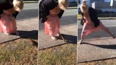 Viral Video: जंगली चूहे के साथ खेल रही थी महिला, उसके बाद जानवर ने किया कुछ ऐसा...देखें वीडियो