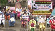 महाराष्ट्र: पदोन्नति और COVID भत्ता सहित विभिन्न मांगों को लेकर सरकारी अस्पताल की नर्सें 48 घंटे की हड़ताल पर