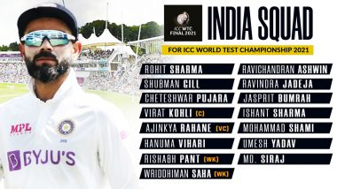 World Test Championship Final: भारत-न्यूजीलैंड ने घोषित की अपनी-अपनी टीमें