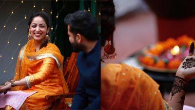 शादी के बाद Yami Gautam ने मेहंदी की तस्वीरें की शेयर, पति आदित्य धर संग मुस्कुराती आई नजर