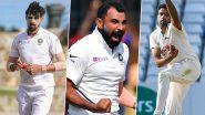 ENG vs IND 1st Test Match 2021: इंग्लैंड के खिलाफ पहले टेस्ट मुकाबले में इन 5 गेंदबाजों के साथ मैदान में उतर सकती है टीम इंडिया