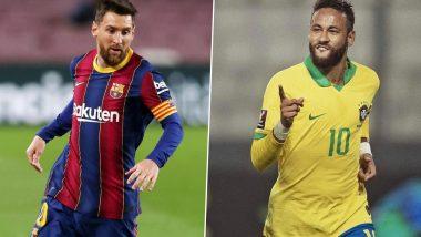 Copa America Final 2021: खिताब के लिए आपस में भिड़ेंगे लियोनेल मेसी और नेमार, जानें कैसी रही पिछली 5 भिड़ंत