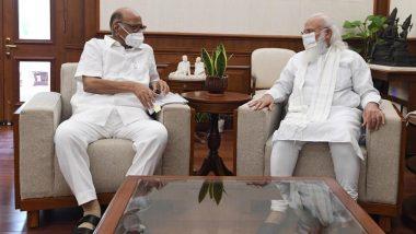शरद पवार और पीएम मोदी की मुलाकात पर NCP ने दी सफाई, कहा- MVA सहयोगियों को थी इसके बारे में जानकारी