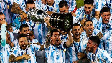 Copa America 2021 Final: लियोनल मेसी का सपना हुआ पूरा, 28 साल बाद अर्जेंटीना ने जीता खिताब