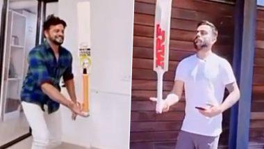 Bat Balance Challenge: विराट कोहली के चैलेंज को इस दिग्गज बल्लेबाज ने किया एक्सेप्ट, जानें फिर क्या हुआ (देखें वीडियो)