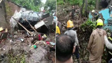 Mumbai Rains: मुंबई में आफत की बारिश, भूस्खलन से चेंबूर में झुग्गियों पर दीवार गिरने से 11 लोगों की मौत