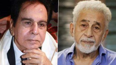 नसीरुद्दीन शाह ने Dilip Kumar को माना महान कलाकार, लेकिन सिनेमा में योगदान पर उठाए सवाल