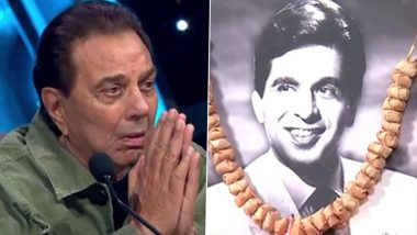 Indian Idol के मंच पर दिलीप कुमार को याद कर फिर इमोशनल हुए धर्मेंद्र, कही दिल छू लेने वाली बातें (Video)