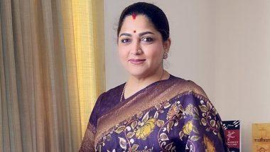 अभिनेत्री, भाजपा नेत्री खुशबू सुंदर का ट्विटर अकाउंट हैक