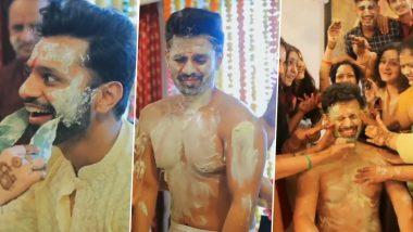 Disha Parmar के बाद अब Rahul Vaidya के हल्दी सेरेमनी का वीडियो आया सामने, यहां देखें