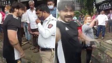 Mumbai: ठाणे में ट्रैफिक पुलिस कर्मियों के साथ दुर्व्यवहार करने के आरोप में दो पर केस दर्ज