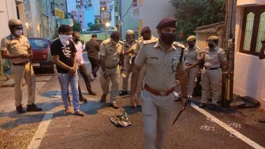 मैसूर: पुलिस को लूटने वाले चोरों को लोगों ने दबोचा, जमकर की पिटाई
