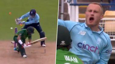 ENG vs PAK 3rd ODI: इंग्लैंड के इस गेंदबाज ने इमाम उल हक को खतरनाक फिरकी में फंसाकर मचाई सनसनी, यहां देखें वीडियो