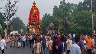 Gujarat Rath Yatra 2021: वडोदरा में भगवान जगन्नाथ की रथ यात्रा निकाली गई