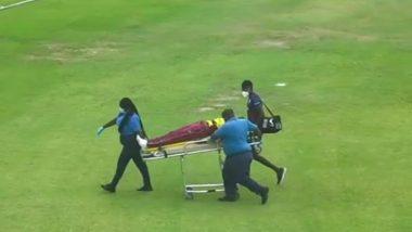 WI W vs PAK W: मैच के दौरान मैदान पर 10 मिनट के अंदर दो खिलाड़ी बेहोश, अस्पताल में भर्ती (देखें वीडियो)