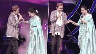 Indian Idol 12 में पवनदीप राजन की आवाज सुनकर मंत्रमुग्ध हुई आशा भोसले, 'I Love You' कहकर स्टेज पर करने लगी डांस (Video)