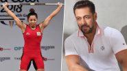 Tokyo Olympics में सिल्वर मेडल जीतने वाली जिस Mirabai Chanu को देश कर रहा है सलाम, वो हैं सलमान खान की दीवानी (Video)