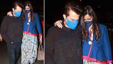 Sonam Kapoor कई महीनों के बाद लौटी मुंबई, एयरपोर्ट पर पापा Anil Kapoor को देखकर छलके आंसू, देखें Video