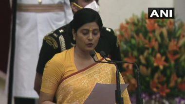 Cabinet Expansion 2021: अनुप्रिया सिंह पटेल दूसरी बार केंद्रीय मंत्रिपरिषद में हुईं शामिल