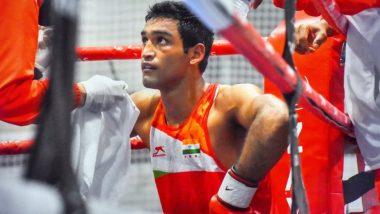 Tokyo Olympics 2020: बॉक्सर आशीष कुमार का सफर टोक्यो में समाप्त, चीन के बॉक्सर एरबीके तुओहेता से हारे