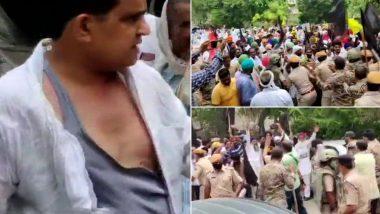 Farmers Protest: राजस्थान में किसानों ने BJP नेता कैलाश मेघवाल से की हाथापाई, कपड़े भी फाड़े