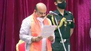 Karnataka New CM: बसवराज बोम्मई बने कर्नाटक के नए सीएम, मुख्यमंत्री पद की ली शपथ