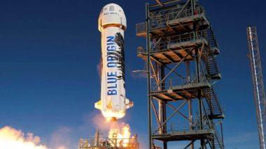 Jeff Bezos Space Flight Live Streaming: अंतरिक्ष में 'न्यू शेपर्ड' से उड़ान भरने के लिए जेफ बेजोस तैयार, इस ऐतिहासिक पल को यहां देखें लाइव