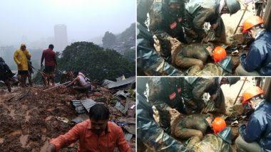 Maharashtra: ठाणे के कलवा इलाके में भूस्खलन से 4 घर क्षतिग्रस्त, रेस्क्यू ऑपरेशन जारी