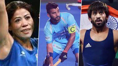 Tokyo Olympics: उद्घाटन समारोह में मैरी कॉम-मनप्रीत सिंह, समापन में बजरंग पुनिया भारतीय होंगे ध्वजवाहक