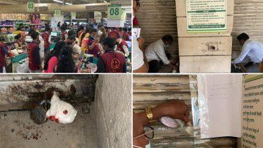 D-Mart Sealed: कोरोना नियमों का उल्लंघन करने पर मुंबई के मलाड इलाके में स्थित डी-मार्ट मॉल सील