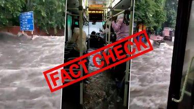 Fact Check: दिल्ली में DTC बस में घुसा बारिश का पानी? यहां जानें क्या है वायरल वीडियो का सच