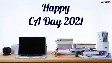 CA Day 2021 Wishes & HD Images: सीए डे पर ये WhatsApp Greetings, SMS, Quotes भेजकर चार्टर्ड अकाउंटेंट दिवस की दें बधाई
