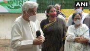 पश्चिम बंगाल की CM ममता बनर्जी से मिलने के बाद जावेद अख़्तर बोले- आजकल देश में टेंशन ज्यादा है, परिवर्तन होना चाहिए
