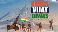 Kargil Vijay Diwas: पीएम मोदी ने देश को गौरवान्वित करने वाले वीर शहीदों को किया नमन, कहा- कारगिल युद्ध भारतीय सेना के शौर्य और संयम का प्रतीक है