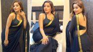 Monalisa Hot Photos: भोजपुरी एक्ट्रेस मोनालिसा ने पहनी काली साड़ी तो फैंस बोले- आग लगा दी