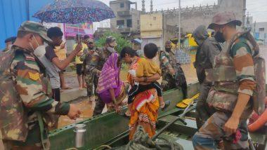 Maharashtra Flood: महाराष्ट्र में कोरोना संकट के बाद बाढ़ का कहर, अब तक 113 लोगों की मौत