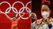 Tokyo Olympics 2020: टोक्यो ओलंपिक में सिल्वर मेडल जीतने के बाद Mirabai Chanu ने जताई खुशी, कहा- 'मेडल देश को समर्पित'