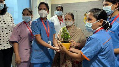 मुंबई की मेयर Kishori Pednekar को अस्पताल से मिली छुट्टी, दो दिन पहले सीने में दर्द की शिकायत के बाद हुई थी भर्ती
