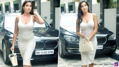 दिलबर गर्ल Nora Fatehi ने बॉडी फिट ड्रेस पहनकर दिखाया अपना बेहदग्लैमरस अवतार, Hot Photos इंटरनेट पर मचा रही हडकंप