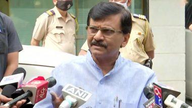 भाजपा की नजर उत्तर प्रदेश विधानसभा और मुंबई नगर निकाय चुनावों पर, पार्टी खेल रही है 'बाहरी' कार्ड : संजय राउत