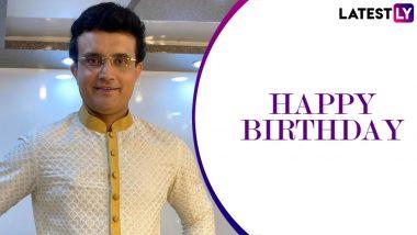 Happy Birthday Sourav Ganguly: 49 साल के हुए 'दादा', दिग्गजों ने कुछ इस तरह दी बधाई