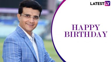 Happy Birthday Sourav Ganguly: 49 साल के हुए सौरव गांगुली, यहां पढ़ें क्रिकेट के मैदान में कैसा रहा उनका सफर