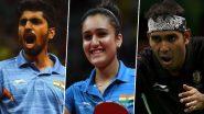 Tokyo Olympics 2020: टेबल टेनिस के ये खिलाड़ी कर रहे हैं देश का प्रतिनिधित्व