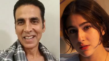 Akshay Kumar ने खींची Sara Ali Khan की बेहद खूबसूरत फोटो, चेहरे पर दिखी सोने सीनिखार